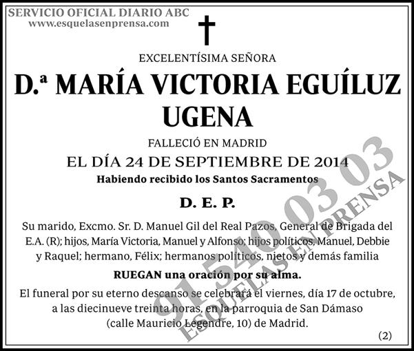 María Victoria Eguíluz Ugena